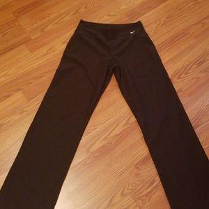 Nike wide leg yoga pants